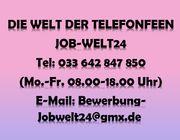Telefonistin Callerin Heimarbeit Job Homeoffice