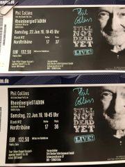 Phil Collins - 2 Konzertkarten - 22