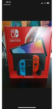 Nintendo Switch OLED Rot-blau 64gb