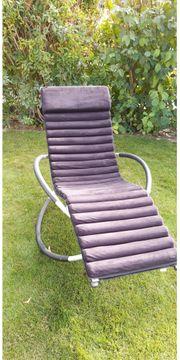 Schaukelliegestuhl für Terasse und Balkon