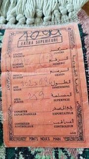 Teppich handgeknüpft aus Marokko