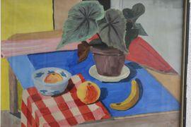 Bild 4 - Gemälde Stilleben Obst mit Planze - Bad Dürkheim