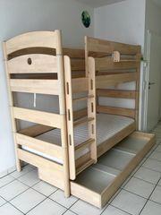 Kinderzimmer-Möbel Hochbett Schrank Sitzbank Tisch