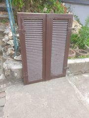 Holz Klappläden Klappladen Holz Fensterläden