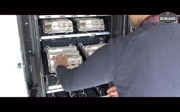Der EiEiEi-O-Mat Eierautomat Eierverkaufsautomat - Neu