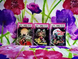 Comics, Science fiction, Fantasy, Abenteuer, Krimis, Western - Romanhefte MONSTRULA 1974-1976 Erstausgabe