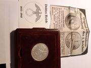 Original Hindenburg Silbermünze 8 gramm