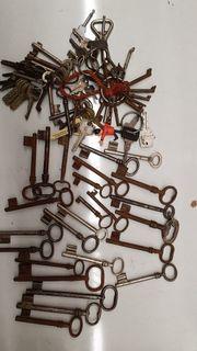 Schlüsselsammlung Deko