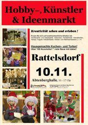 Rattelsdorfer Hobby- Künstler- und Ideenmarkt