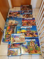 Playmobil Konvolut Dschungel Piratenschiff Western