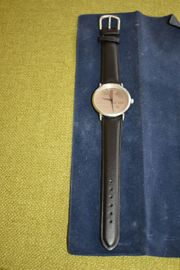 Jubiläums Uhr DM 1950 Edelstahl