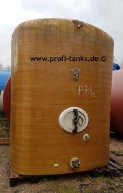 P78 gebrauchter 6000L Polyestertank GFK-Tank