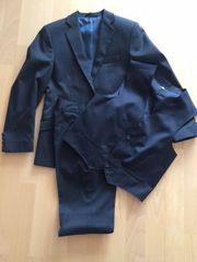 Anzug-dunkelblau-Gr 146