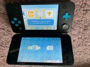 Nintendo 2DSXL türkis schwarz Top