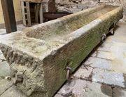 Antiker Sandsteintrog Futtertrog Einzelstück gehauen