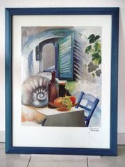 Bilder 88 x67 cm Holzrahmen
