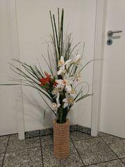 Kunstblumen Dekoration Blumen Vase
