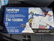 Original Brother TN-135BK Toner