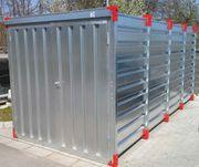 Lagercontainer Materialcontainer Lagerraum Stauraum Länge