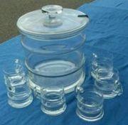 6 Bowle Gläser ohne Bowlegefäß