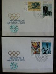 Briefmarken Olympische Spiele DDR