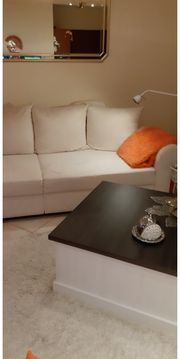 Big Sofa altweiß u kleiner