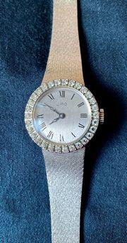 Ciro Damen Armbanduhr silberfarben mit