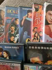 Bollywood DVDs mit Shah Rukh