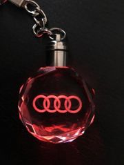 Audi Logo LED Anhänger Schlüssel