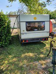 Wohnwagen Eriba mit Vorzelt