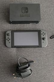 Nintendo Switch - neuwertiger Zustand