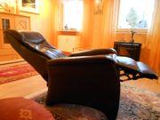 Relax Fernsehsessel aus Kunstleder gebraucht