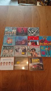 14 CDs Singles diverse Bands