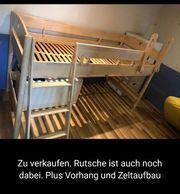 Hochbett Kinderzimmer mit Rutsche