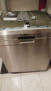 Siemens Edelstahl Spülmaschine Unterbaugerät