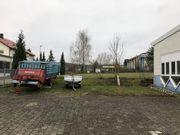 Außenstellplatz für Wohnmobil Wohnwagen Boot