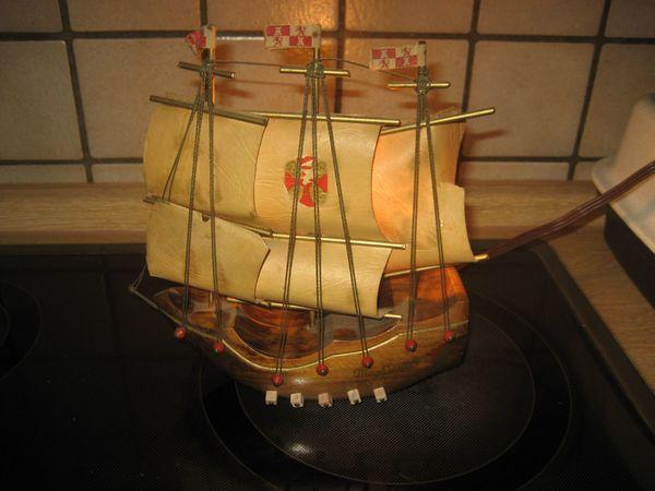 Mayflower beleuchtetes Schiff Holzschiff Modell