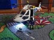 Polizeihubschrauber Playmobil