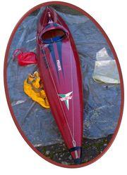 Gebrauchter Prijon - Wildwasserkajak Einsitzer mit