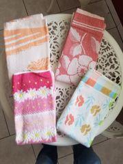 VINTAGE 4 neue Handtücher