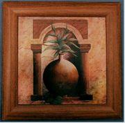 modernes Stillben-Bild mit Motiv Vase Pflanze