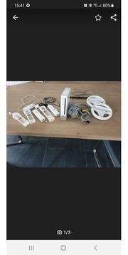 Nintendo Wii mit umfangreichen Zubehör