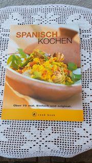 Neuwertiges modernes Kochbuch Spanisch Kochen