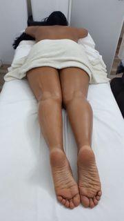 sinnliche Wellness-Massage zu Hause