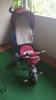 Kinderdreirad - Kinderwagen