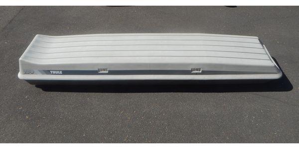 Thule 250 Dachbox - Ski - Gepäckbox