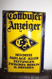 Emailschild Cottbuser Anzeiger