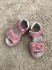 Mädchen Sandalen Sommerschuhe Riemchenschuhe Leder