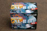 10 Maxell CD-RW XL-II 80