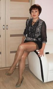 Charmante Polin mit Stil und